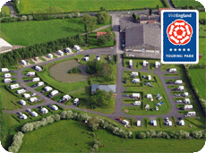 York Caravan Park 5-Star Touring Park Award 2015