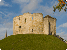 Cliffords Tower, York Castle