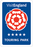 Visit England, 5 star touring caravan and camping park york.