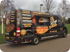 Enjoy the autentic taste of Italian Pizza, freshly baked for you at York Caravan Park ak