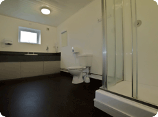 5 star shower rooms at York Caravan Park