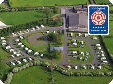 York Caravan Park 5-Star Touring Park Award 2015