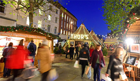 Visit York Christmas Markets from York Caravan Park