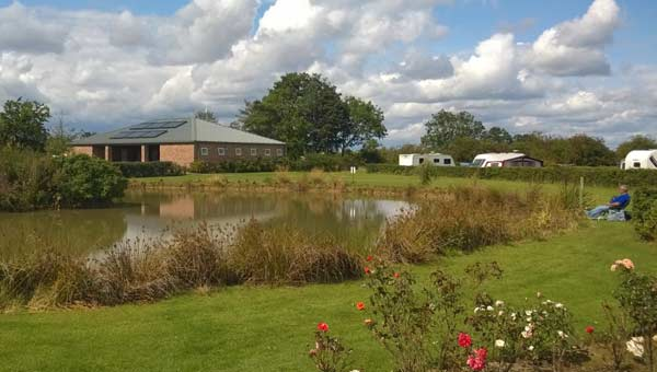 enjoy a spot of fishing at York Caravan Park, North Yorkshire