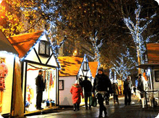 Christmas in York, St Nicholas Market, Christmas Stree Fairs