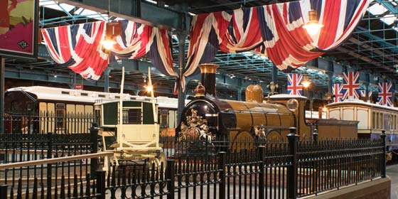 York Railway Museum is one of York's top visitor attractions