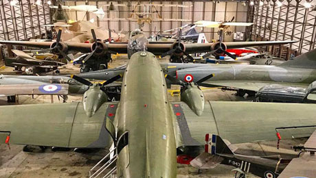 Visit Yorkshire Air Museum from York Caravan Park