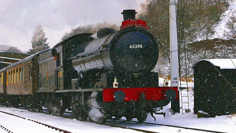See the North Yorkshire Moors from the comfort of a North Yorkshire Railway Steam Train